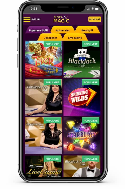 Slots Magic mobilcasino